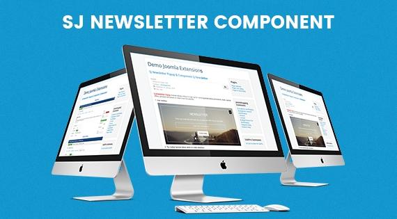 SJ Newsletter - Free Responsive Joomla! Component