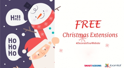 Free Joomla Christmas Extensions for Decorating your Website