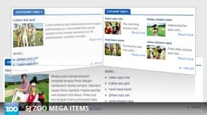 SJ Mega Items for Zoo - Joomla! Module