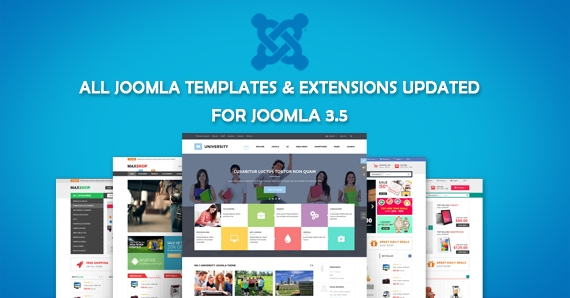 Updating all Joomla Templates & Extensions for Joomla 3.5