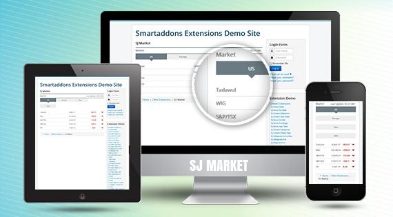 SJ Market - Responsive Joomla! Module