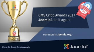 Joomla - The Best Free CMS by 2017 CMS Critic Awards