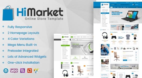 HiMarket - Super Clean WooCommerce HiTech Store WordPress Theme
