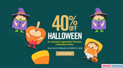 Big Halloween Sale: Get 40% on Everything