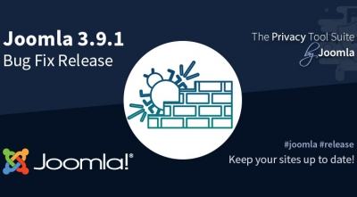 Joomla! 3.9.1 Bug Fixes Release