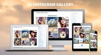 SJ Instagram Gallery - Free Responsive Joomla! Module