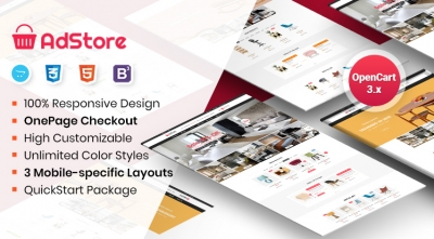 So AdStore - Multipurpose Responsive OpenCart 3 Theme