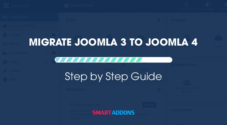How to Migrate/Upgrade Joomla 3 to Joomla 4 Step by Step Tutorial