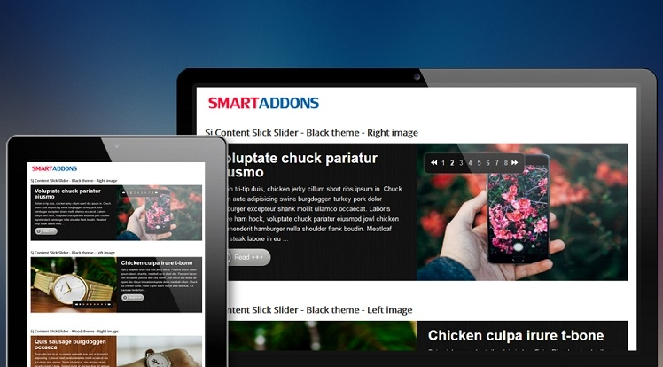 SJ Content Slick Slider - Joomla! Module