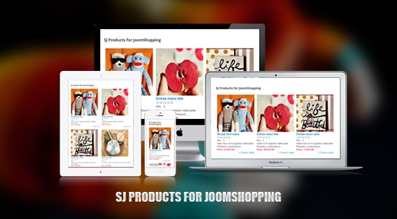 SJ Products for JoomShopping -  Free Joomla! Module