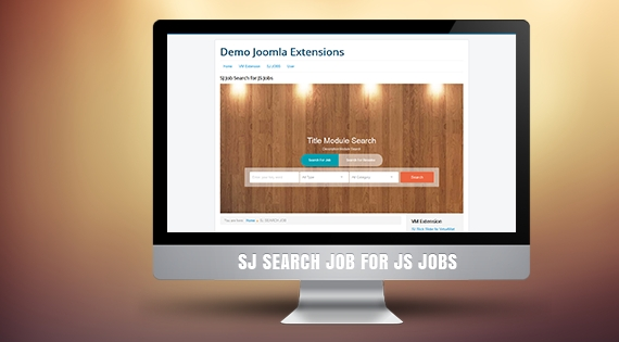 SJ Search Job for JS Jobs - Responsive Joomla! Module