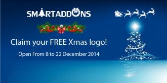 Christmas Freebies: FREE Xmas Logo designed by SmartAddons