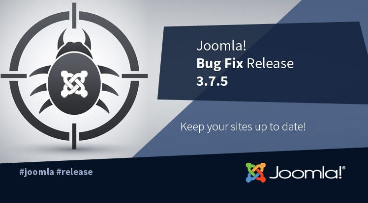 Joomla! 3.7.5 Bug Fix Release