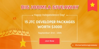 [Giveaway] Celebrate VietNam's Independence Day with 15 JTC Developer Packages For Free!