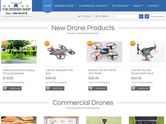The Drones Shop