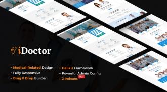 Sj iDoctor - Professional Clinic, Healthcare Joomla Template