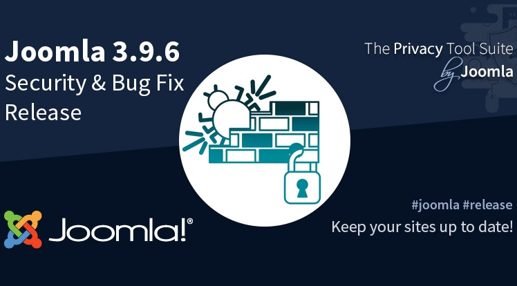 Joomla! 3.9.6 Security & Bug Fixes Release