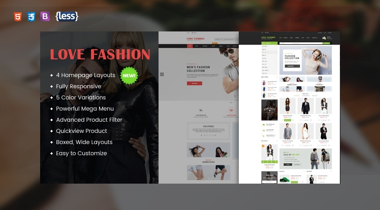 LoveFashion - Responsive Multipurpose OpenCart Theme