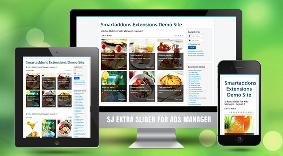 SJ Extra Slider for AdsManager - Joomla! Module
