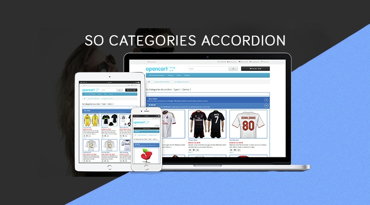 So Categories Accordion - Responsive OpenCart 3 & 2.x Module
