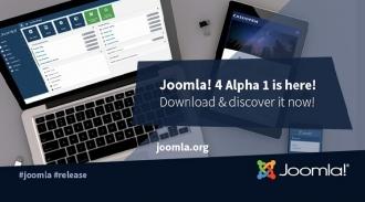 Joomla! 4.0 Alpha 1 Release