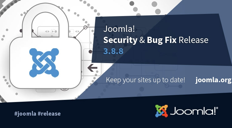 Joomla! 3.8.8 Security & Bug Fixes Release