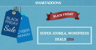 Warm Up Black Friday 2016 Season with SmartAddons & Our Partners