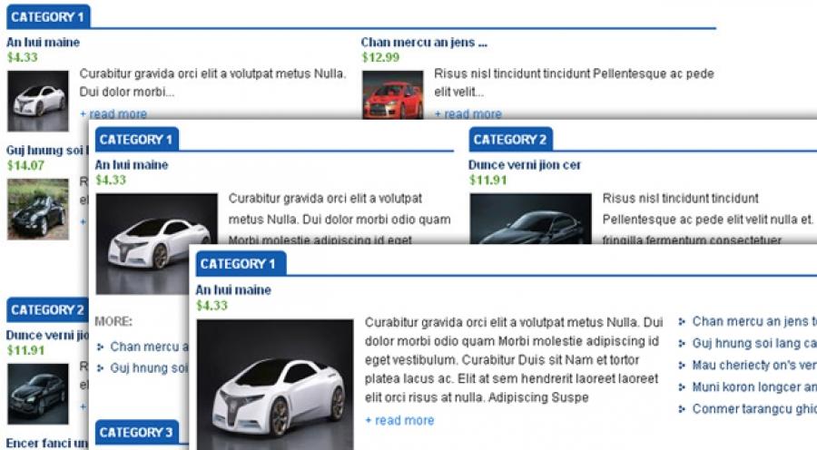SJ Mega Products for Virtuemart- Joomla! Module