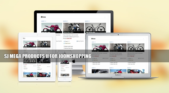 SJ Mega Products II for JoomShopping - Joomla! Module
