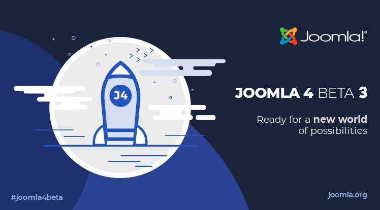Joomla 4.0 Beta 3 & Joomla 3.10 Alpha 1 Are Here