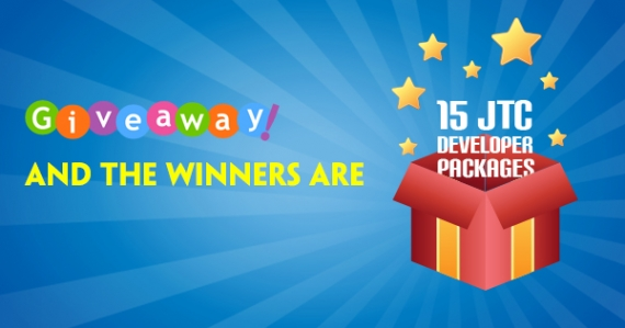 Joomla Giveaway Winners Announcement