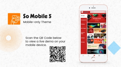 So Mobile 5 - Multipurpose eCommerce OpenCart Mobile Theme (For Mobile Only)