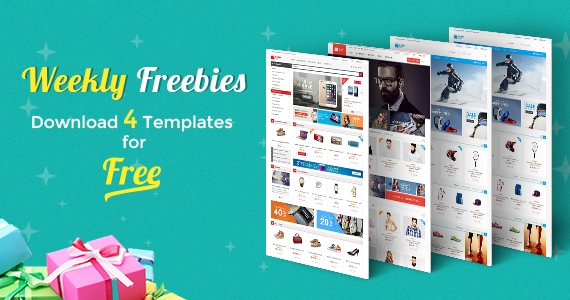 Weekly Freebies #1: Get 4 Premium Joomla Templates for FREE