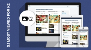 SJ Most Viewed for K2 - Responsive Joomla! Module
