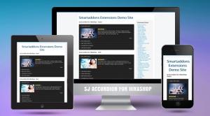 SJ Accordion for HikaShop - Joomla! Module