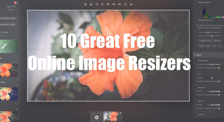 10 Great Free Online Image Resizers Supporting your Website Content the Best