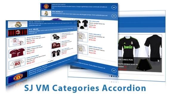 SJ Categories Accordion for Virtuemart - Joomla! Module