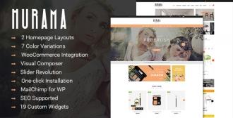 SW Hurama - A Beautiful WooCommerce WordPress Theme
