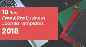Best 10 FREE & PRO Multipurpose Business Joomla Templates 2018