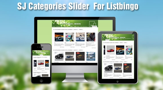 SJ Categories Slider for Listbingo - Joomla! Module