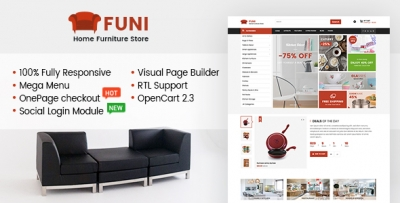 So Funi - Responsive Multipurpose OpenCart 3 Theme