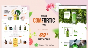 Comfortic - Elegant Beauty & Cosmetics Shopify Theme