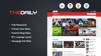 Join SJ TheDaily Template - Take 49% OFF for Purchasing