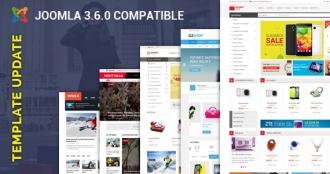 [Update] 25+ Joomla Templates Updated for Joomla 3.6 & Bug Fixes