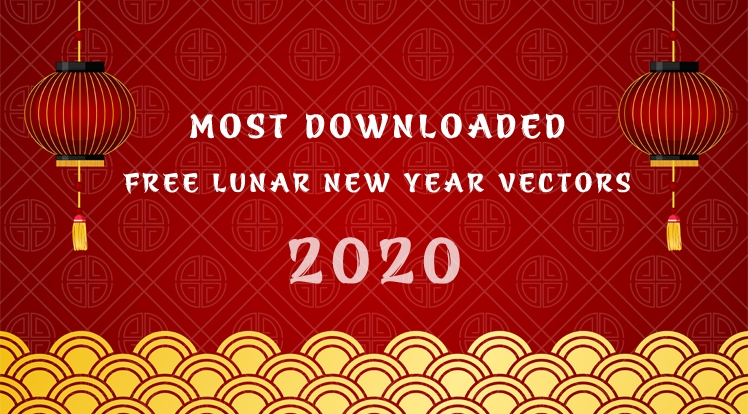 Most Downloaded Free Happy Lunar New Year 2020 Vectors
