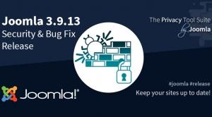 Joomla 3.9.13 Bug Fix & Security Release
