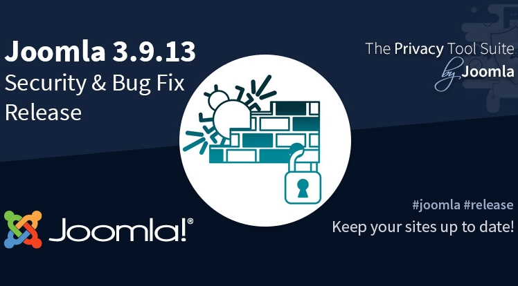 Joomla 3.9.13 Bug Fix & Security Release