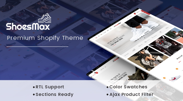 Ss ShoesMax - Minimal Shoes Store Shopify Sections Theme
