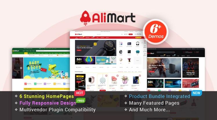 AliMart - Responsive Multipurpose OpenCart 3 Theme