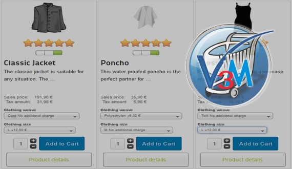 VirtueMart 3 - New generation of eCommerce solution with Joomla 3 supported already